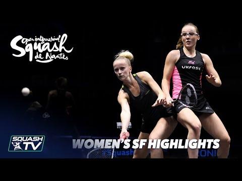 Squash: Women's SF Roundup - Squash de Nantes 2018