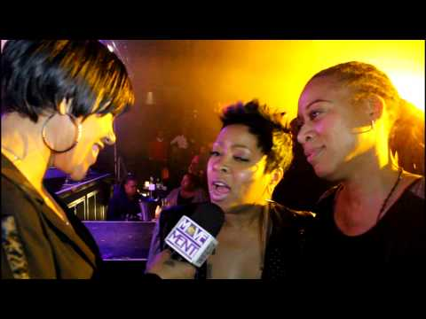 monifah - Singer Monifah and Girlfriend Terez Interviews with Tray K. of BKS1 Radio & The Movement Magazine at Club XL in NYC During Fantasia's Release Party.