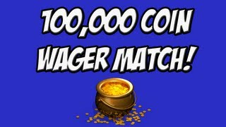 FIFA 13 100,000 COIN WAGER MATCH! - LIVE COMMENTARY!