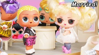 Video Wedding with LOL Surprise Dolls Morning Routine + Scribbles Get Married to Oops Baby MP3, 3GP, MP4, WEBM, AVI, FLV Desember 2018