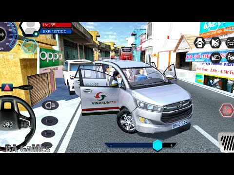 Car Games 👩‍🚒 Car Simulator Vietnam - Toyota Innova Long CityTour #5 Car Games Android Gameplay