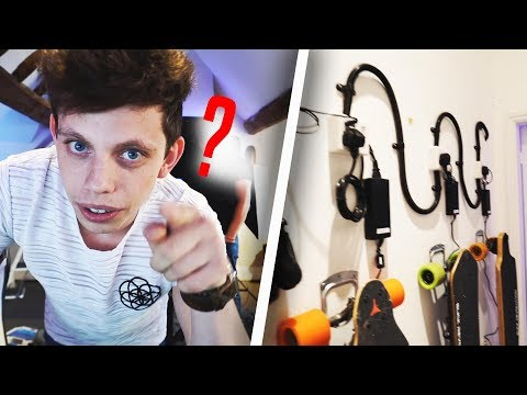 MEET MY NEW ASSISTANT + LOOK AT WHAT WE DID TO THE OFFICE! 😱 (видео)