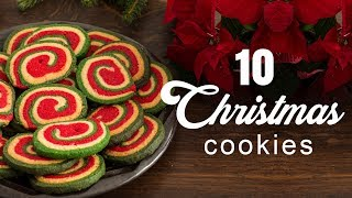 10 Christmas Cookies by Home Cooking Adventure