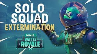 Solo Squad Extermination! - Fortnite Battle Royale Gameplay - Ninja