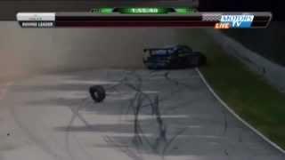 Grand Am 2012 Road America Bertheau schwerer Unfall