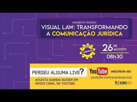 """Momento Técnico """"Visual Law: transformando a comunicação jurídica"""""""