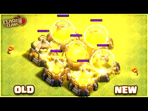 Super Wizard Before Update vs After Update💥  New Balance Changes   Clash of Clans....