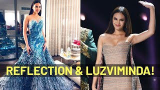 AMAZING Story of Catriona Gray's Reflection and LuzViMinda Gowns by Mak Tumang!