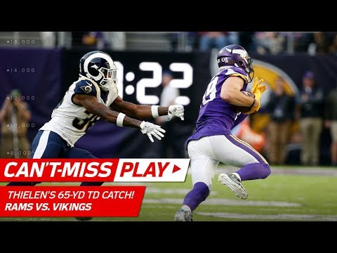 Video: Adam Thielen's 65-YD Catch-'n-Run TD to Extend the Lead! | Can't-Miss Play | NFL Wk 11 Highlights