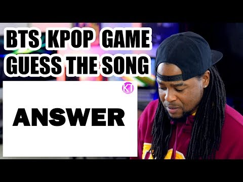 [BTS GAME] GUESS THE BTS SONG BY ITS FIRST WORD!!! | HARD