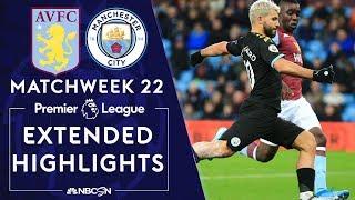 Aston Villa v. Manchester City   PREMIER LEAGUE HIGHLIGHTS   1/12/2020   NBC Sports