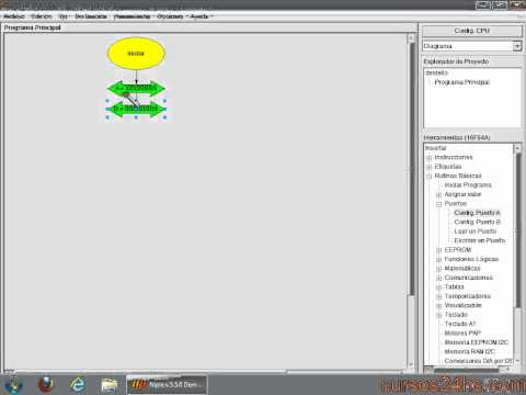 niple - Bienvenidos a nuestro primer programa creado con Niple. El mismo va a hacer destellar un led en un intervalo de 1 segundo. En el video también se describe el...