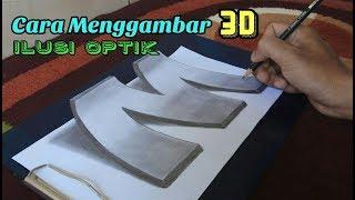 Download Video Cara Menggambar 3D Keren Huruf Timbul MP3 3GP MP4