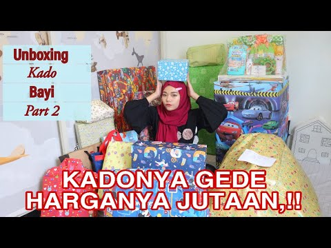 UNBOXING KADO BAYI PART 2