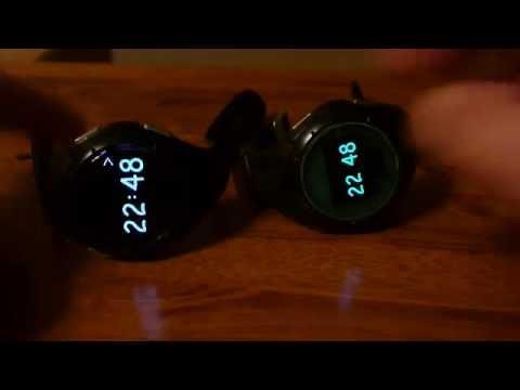 подводные часы с увеличенным экраном (видео)