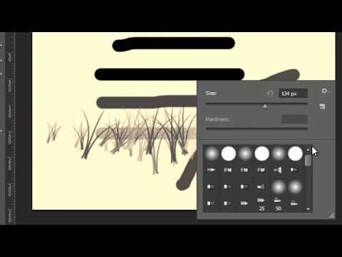 دورة فوتوشوب 13 photoshop cs6 الدرس الثامن: أداة الفرشاة brush tools