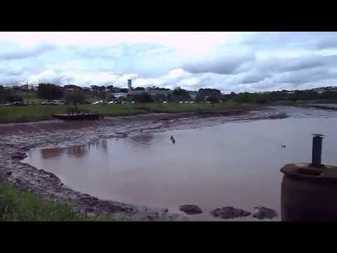 A represa da Unimed estourou em Ourinhos SP.