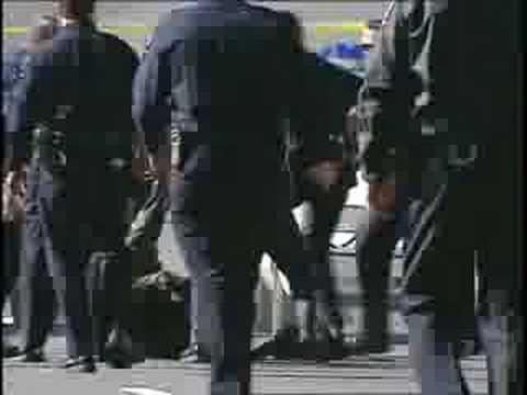 Ninja vs Cops (raw video)