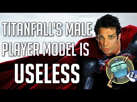 Titanfall - Male Player Model is Inferior to the Female. (видео)