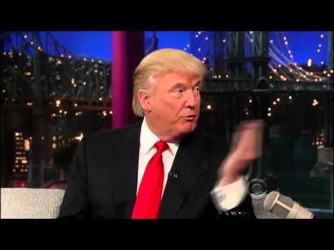 Donald Trump on David Letterman 27 March, 2013