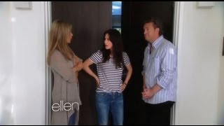 Jennifer Aniston, Matthew Perry and Courteney Cox FRIENDS Reunion on Ellen!