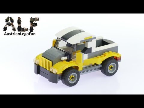 Lego Creator 31046 Pickup Truck Model 2of3 - Lego Speed Build Review