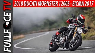 7. 2018 Ducati Monster 1200S Review and Specs - EICMA 2017