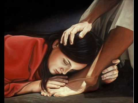 At the feet of Jesus 0001