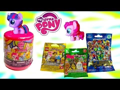 MLP My Little Pony Fashems Mystery Surprise Blind Bag Lego Playmobil Toy Opening REview