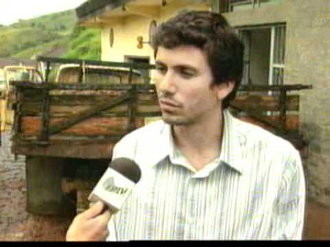 Enchente em Aiuruoca - EPTV/ Globo Minas