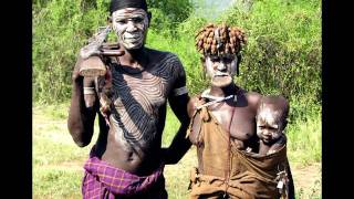 Mursi People, Ethiopia