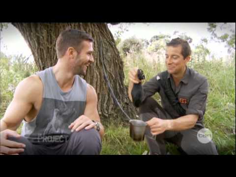 grylls - Bear Grylls interview on 'The Project' - http://theprojecttv.com.au Broadcast date: 6 March 2013. Keywords: Kris Smith, Air New Zealand safety video.