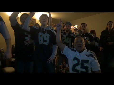 Seahawks Fan Reaction VS Patriots Superbowl XLIX (49) 2-1-2015