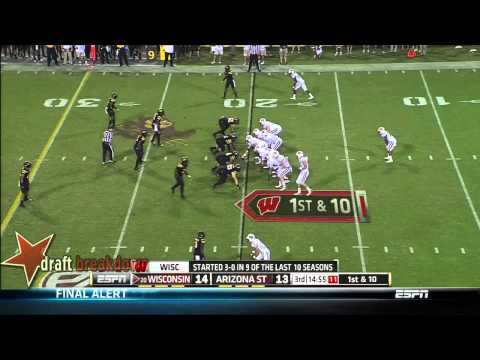 Tyler Marz vs Arizona St. 2013 video.