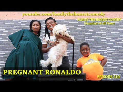 FUNNY VIDEO (Pregnant Ronaldo) (Family The Honest Comedy)(Episode 210)
