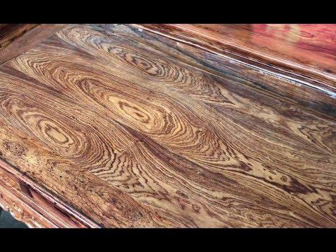 Bộ bàn ghế gỗ cẩm lai ( gỗ xịn) cực đẹp 10 món tay 12