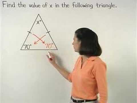 Isosceles Triangles Video