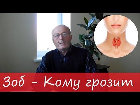 ЗОБ | лечение и профилактика забол.  ЩИТОВИДНОЙ железы | ЙОД.  – Юзеф Криницкий