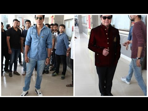 Sonu Sood And Stanley Tong At Promotion Film Kung Fu Yoga