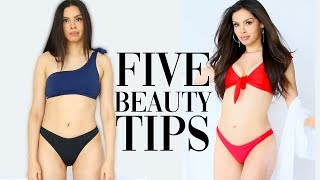 5 BEAUTY TIPS NO ONE TOLD YOU by Alexandras Girly Talk