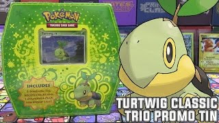 Pokémon Cards - Turtwig Classic Trio Tin! | Crystal Guardians, Power Keepers, Secret Wonders by The Pokémon Evolutionaries