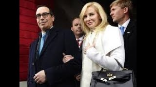 Louise Linton, Treasury Secretary Steven Mnuchin's wife, got into an Instagram fight after she posted a picture of herself ...