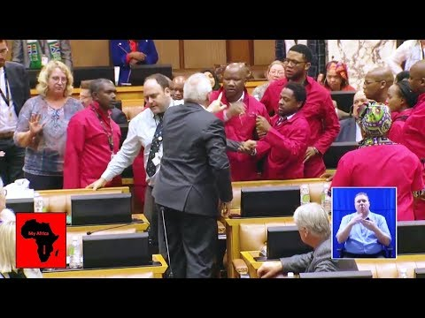Big Fight In Parliament After Julius Malema Speech
