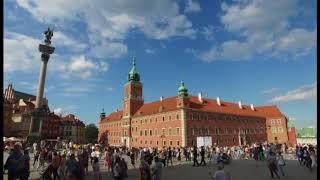 Słoneczne popołudnie w Warszawie