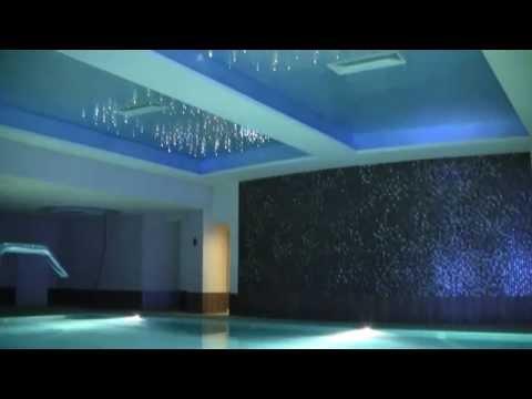 Zestaw Planetoidy, oświetlenie basenu, projekt światłowodów nad basen