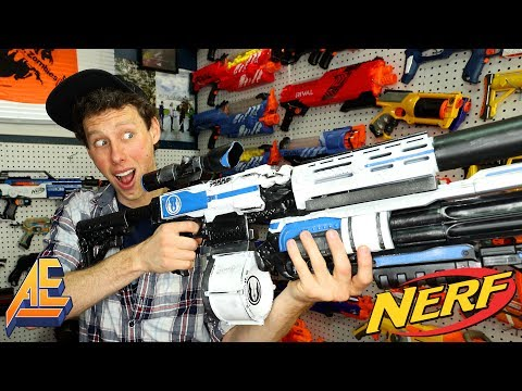 EPIC NERF STRYFE MODS FOR NERF WARFARE! (Scar, MP5, FDL-2, Al the Geek)
