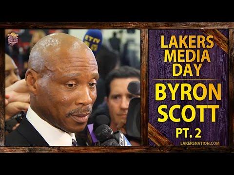 Video: Lakers Media Day 2014: Byron Scott (PT II), Defense Wins Championships