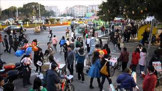 Ganzhou China  city photo : Street Scene in Ganzhou, Jiangxi Province, China