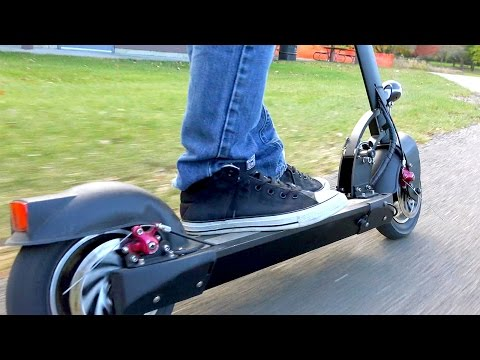 Fast Electric Scooter - Monorover R4