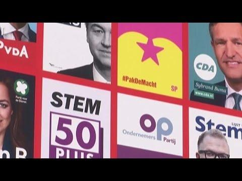 Ξεκίνησε η προεκλογική περίοδος στην Ολλανδία